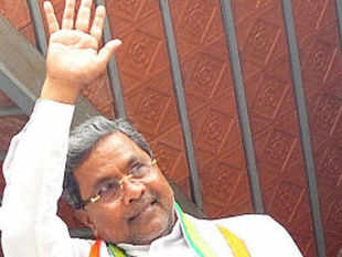 The party called in its 121 legislators and asked them to choose between Siddaramaiah (above), who led the campaign, and Mallikarjun Kharge, a minister in Delhi, for chief minister.
