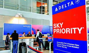 Airlines are stepping up competition for full-fare passengers between New York and Los Angeles, with lieflat seats, pricey French wines and personal valets to whisk travellers from curb to gate . The latest dogfight over firstand business-class fliers involves five carriers on the most lucrative US route. Delta Air Lines , American Airlines, United Airlines, JetBlue Airways and Virgin America.