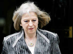 """UK's home secretary Theresa May said """"thousands face the risk of being radicalised by hate preachers"""" and hence the snooper's charter legislation needs to be revived."""