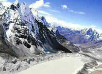 As per a study conducted by State Council for science technology and environment and Ahmedabad-based Space Application Centre, over 449 sq km of glacier area in Himachal has disappeared between 1962 and 2001.