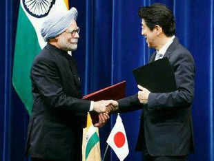 "Prime Minister Manmohan Singh's just concluded Japan visit continues to rile China, with a state-run daily warning that India could get close to Tokyo ""at its own peril"" and ties with it ""can only bring trouble"" to New Delhi."
