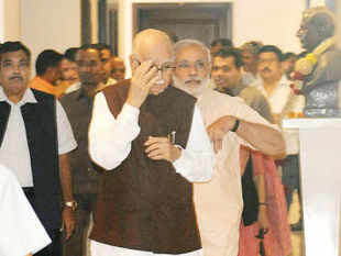 It was a three-day fast that effectively ended a nearly four-decade-long guru-shishya relationship between L K Advani and Narendra Modi.