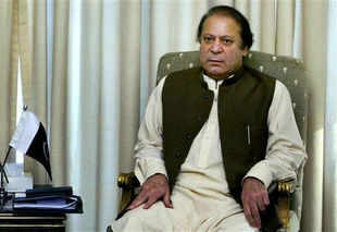 Prime Minister Nawaz Sharif today removed a senior Pakistani official from his post for issuing advertisements to the media to congratulate the PML-N on its victory in the May 11 general elections.