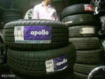 Apollo's stock has fallen more than 30 per cent since announcing the debt-financed deal for the US-based tyre maker after the markets close on Wednesday.