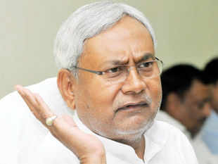 """The situation indeed is grim and running a coalition government would be difficult"", Nitish Kumar told reporters in Patna."