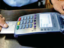 This is because the debit card consumer base in the country at 200 million is ten times that of credit cards.