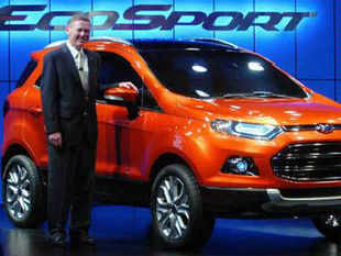 Auto major Ford today said its latest SUV Ecosport is being rolled out from its manufacturing facility at nearby Maraimalai Nagar.