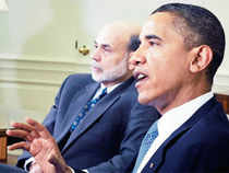 """""""Ben Bernanke's done an outstanding job,"""" Obama said in an interview, when asked about nominating him for another term."""