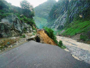 Damage to roads and bridges is the biggest challenge for the agencies operating for relief and rescue in Uttarakhand, ITBP chief Ajay Chadha said today.