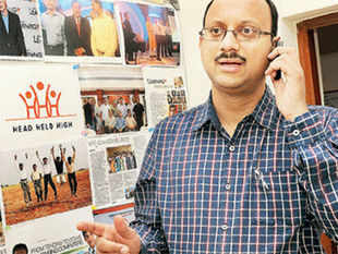 Madan Padaki, whose company HeadHeldHigh Services counts rural India as its main market, is your typical startup entrepreneur