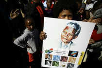 """Anti-apartheid icon Nelson Mandela's condition remains """"critical but stable"""", South African President Jacob Zuma said today hoping he will be out of the hospital soon."""