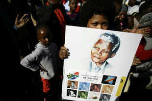 "Anti-apartheid icon Nelson Mandela's condition remains ""critical but stable"", South African President Jacob Zuma said today hoping he will be out of the hospital soon."
