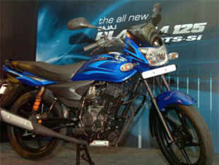 Bajaj Auto today reported 20 per cent decline in its motorcycle sales at 2,54,544 units in June 2013.