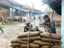 At least six policemen, including Pakur Superintendent of Police Amarjit Balihar have been killed in a Maoist attack in Jharkhand's Dumka district on Tuesday.
