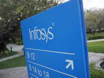 Falling for the second day in a row today, shares of Infosys lost by nearly 2 per cent on worries that the IT major will scale down its FY'14 sales outlook.