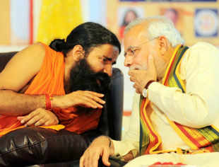 Ramdev bats for Narendra Modi, trains gun at Nitish Kumar for 'Rambo' remark