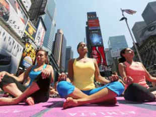 Yoga enthusiasts in the US got a big boost this week when a California judge ruled that the practice is now a ''distinctly American cultural phenomenon.