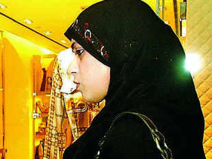 Burqa is no longer just black, boring and behind the times - the burqa is fast transforming into a global fashion statement and Indian women are keeping apace.