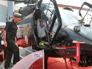"""The Army will take a major step forward in getting airborne firepower by raising its first-ever dedicated squadron of """"armed'' choppers next month. (Pic by BCCL)"""