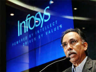 """Despite the solid performance in first quarter of the current fiscal year, Infosys has adopted a """"cautiously optimistic"""" stance."""