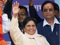 BSP chief Mayawati on Sunday said the courts should instead ban religion-based organizations like Vishwa Hindu Parishad and Bajrang Dal.
