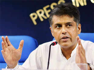 Congress leader and Information and Broadcasting Minister Manish Tewari said the choice before people was an inclusive India or an India which is sectarian.