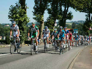 The Tour de France is the most prestigious cycling event held in France. An annual bicycle race, it lasts for about three weeks.