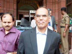 Subbarao has said the currency's exchange rate will largely be market-determined but central bank would intervene to prevent disruptions to macro-economic stability.