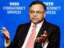 Most brokerages have raised their EPS estimates and revised TCS' target price upwards following strong results and rupee depreciation