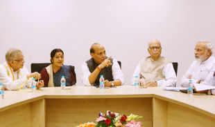 Narendra Modi's election campaign team announced