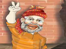 Narendra Modi has a compelling personality, an authoritative voice and the ability to hold his audience's attention. He embellishes his speeches with powerful idioms and imagery.