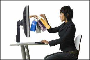 Women getting intimate on online stores, privacy of Internet shopping draws customers in hordes