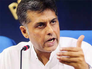 """If Modi is so confident of the governance model of Gujarat, he should come and debate it with us,"" said Tewari. (Pic by PTI)"