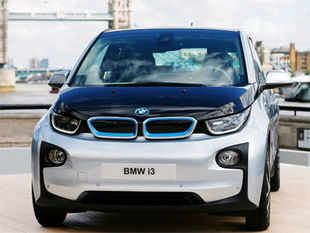 Customers of BMW i3 can book a conventional auto like the full-sized X5 SUV for several weeks a year for family trips or as a backup