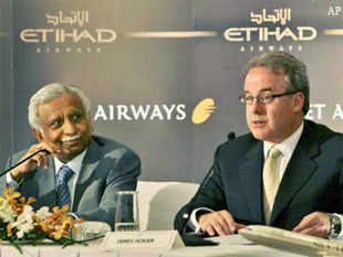 60% of Jet Airways' operational revenue is from international lands and the partnership with Etihad definitely, even without adding any more capacities, would see a significant increase in their load factor and profitability, going ahead.