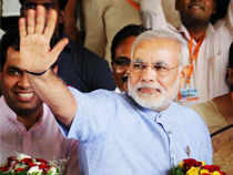 "Gujarat Chief Minister Narendra Modi today accused the Congress-led UPA government of playing ""vote bank politics"" over food security."