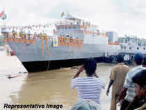 The vessel is the seventh in the series of the total eight IPVs built by M/s GRSE, Kolkata for the Coast Guard, an official release said here today.