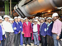 Steel Authority of India (SAIL) today said the country's largest blast furnace has become operational at its Rourkela Steel Plant (RSP)