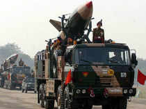 A file picture of Prithvi missile. The Prithvi-II missile, developed by the DRDO, is already inducted into the Indian Armed forces.