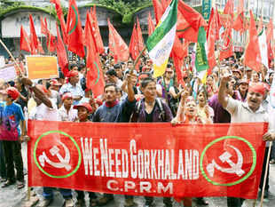 An all-party meeting called by the GJM is being held in the Darjeeling hills, with the TMC, CPI(M), Congress and GNLF staying away.