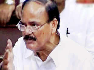 "Venkaiah Naidu today said it is futile to hold talks with Pakistan and alleged that it has become a ""rogue nation"" waging a proxy war against India. (PTI)"