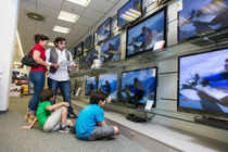 Indian travellers returning home will now have to pay Customs duty on TV sets they buy overseas. The government on Monday slapped a 10% Customs duty and 12.5% countervailing duty on such imports.