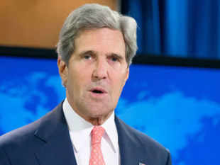 """Asserting that chemical weapons were used in Syria by the embattled Assad regime, US Secretary of State John Kerry today termed the last week's attack that killed over 300 civilians a """"moral obscenity"""" that should shock the conscience of the world"""
