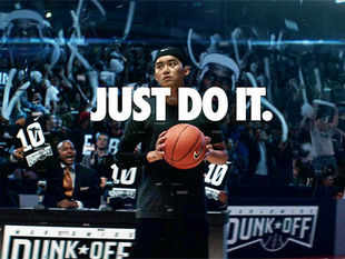 "Nike: Just Do It — Possibilities (by Wieden+Kennedy, Portland): We bet the writer on this Nike spot would have thrown a lot of his initial scripts in the dustbin telling himself, ""This reads good. Now write better!"""