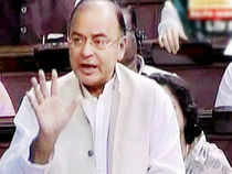 """""""The election of a member to JPC through a resolution by voice vote would mean winner takes it all,"""" Jaitley said. (Pic by PTI)"""
