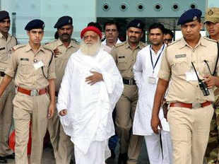"BSP on Saturday lashed out at delay in the arrest of self-styled Asaram saying that he should have been in jail by now as his act has also ""degraded the Sadhus""."