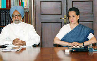 "A Delhi court has dismissed as being ""part of political vendetta"" a plea to summon Prime Minister Manmohan Singh and Congress President Sonia Gandhi as witnesses."