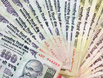 The rupee strengthened past 64 for the first time since August 26 to as high as 63.76