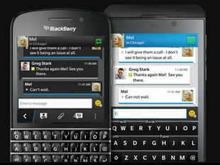 BBM's video and voice calling features will not be immediately available on BBM's Android and iPhone apps