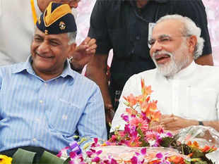 Former Army chief General VK Singh is again in the middle of a controversy — but this time, it's almost full-blown politica